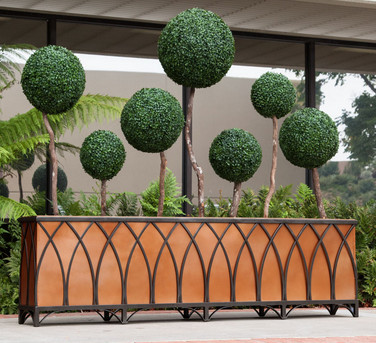 wrought-iron-planters