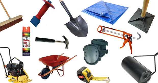 storing landscaping tools